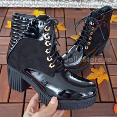 "Botine Imblanite   ""JollyStoreCollection"" cod: 7887"