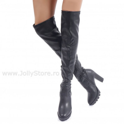 "Cizme Piele ECO ""JollyStoreCollection"" cod: 6001"