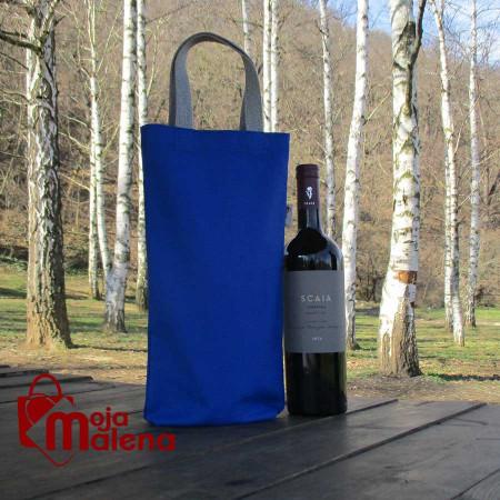 Ceger za flašu rojal plavi 3111