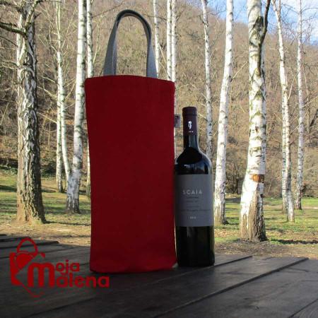 Ceger za flašu crveni 3101