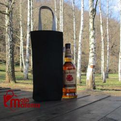 Ceger za flašu crni 3106
