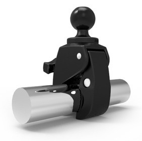 RAM® X-Grip® Large Phone Mount with RAM® Tough-Claw™ Small Clamp Base