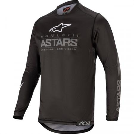 Tricou cross-enduro Alpinestars Racer Graphite
