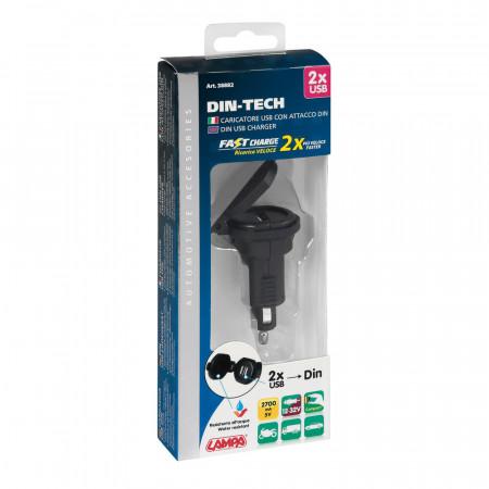 Incarcator USB Lampa Din-Tech