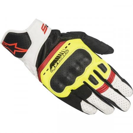 Manusi de piele sport Alpinestars SP-5 Fluo