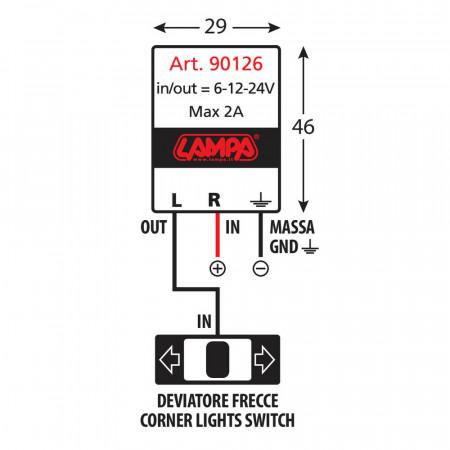 Releu de semnalizare Lampa pentru semnale cu led