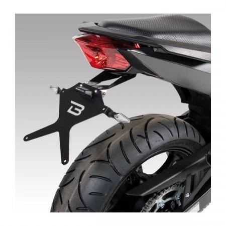Suport de numar Barracuda pt Yamaha XJ6