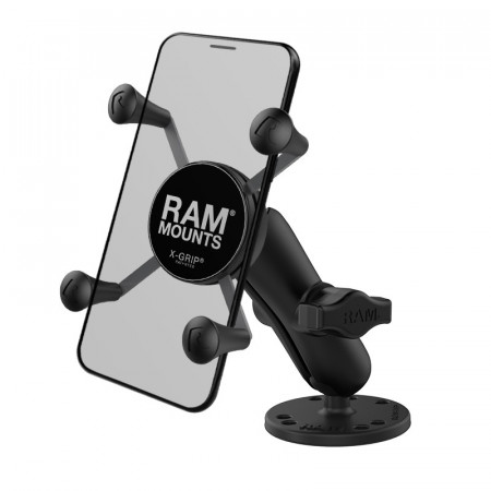 RAM® X-Grip® Phone Mount with Drill-Down Base