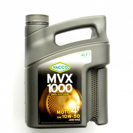 Ulei de motor YACCO MVX 1000 4T 10W50 4L