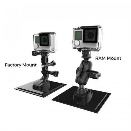 RAM® Ball Adapter for GoPro® Suport universal camere de actiune
