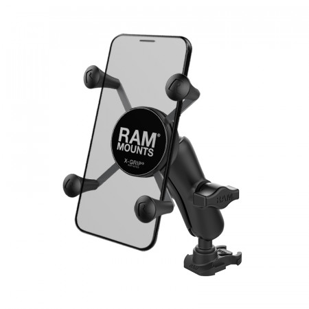 RAM® X-Grip® Phone Mount with Ball Adapter for GoPro Bases