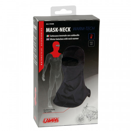 Cagula cu protectie de gat Lampa Mask-Neck