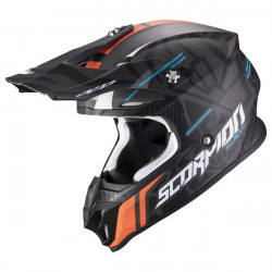 Casca cross-enduro SCORPION EXO VX-16 AIR ROK REPLICA II