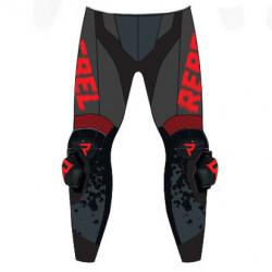 Pantaloni de piele Rebelhorn Rebel Camo