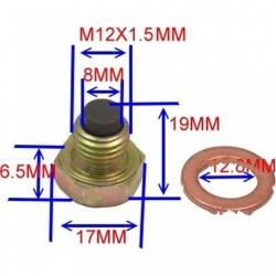 Surub Golire Ulei Cu Magnet M12x1.5 Cu Saiba 723.93.04