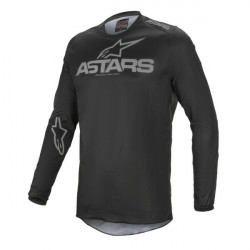 Tricou cross-enduro Alpinestars FLUID GRAPHITE