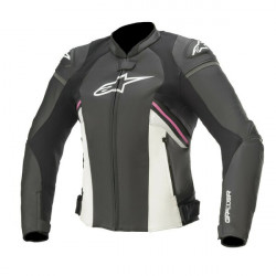 Geaca de piele sport/touring Alpinestars STELLA GP PLUS R V3