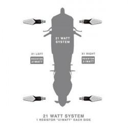 Rezistente electrice 21w Barracuda