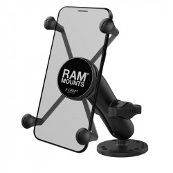 RAM® X-Grip® Large Phone Mount with Drill-Down Base