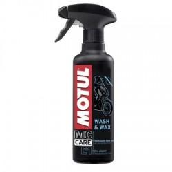 Spray Motul E1 Wash&Wax 400ml
