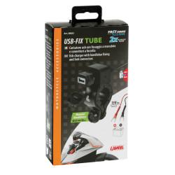 Incarcator telefon cu prindere ghidon Lampa USB-Fix Tube