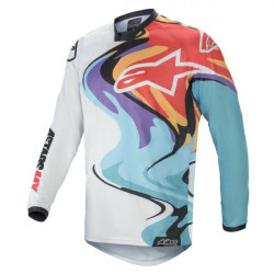 Tricou cross-enduro Alpinestars RACER FLAGSHIP