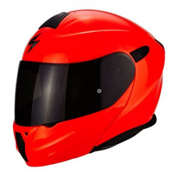 Casca Flip-up SCORPION EXO 920 HI VIZ RED