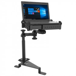 RAM® No-Drill™ Laptop Mount for '17-21 Ford F-250 - F-550 + More