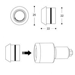 Semnale led pentru capete de ghidon Barracuda B-Led