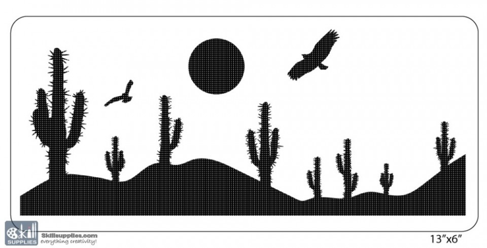 buy nature stencil na019 online in india   skillsupplies com
