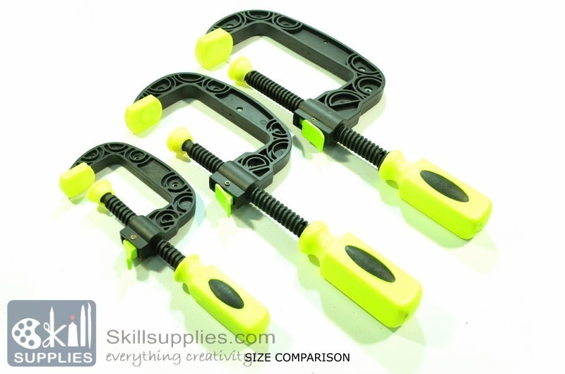 Buy plastic c clamp small online in india skillsupplies