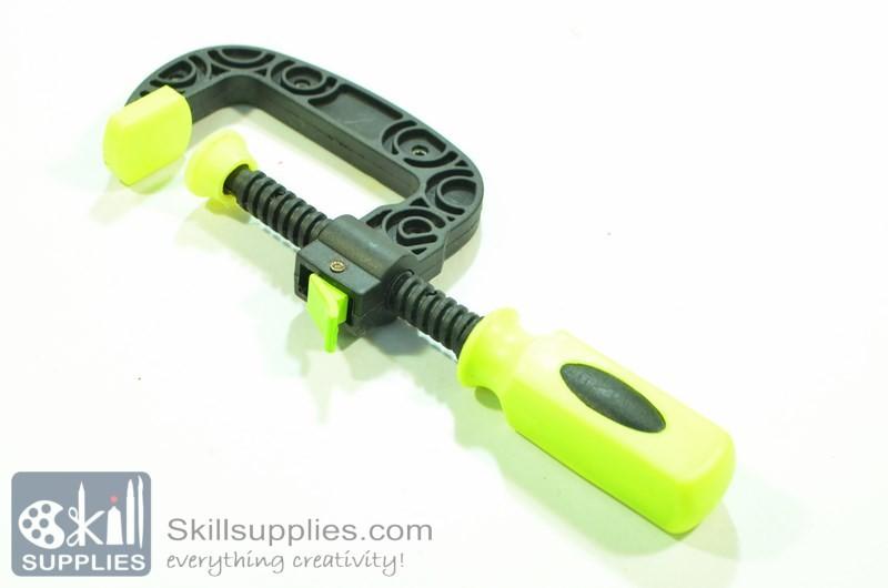 Buy Plastic C clamp Small online in India @ skillsupplies.com