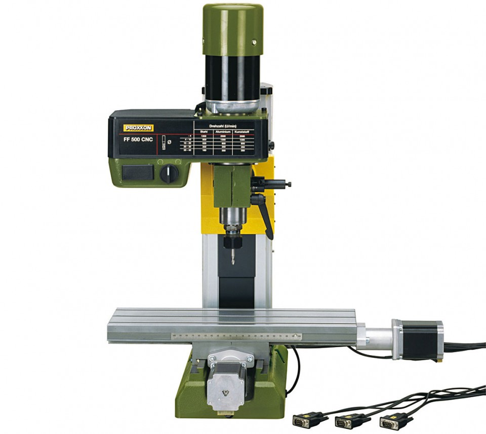 Buy MICRO miller FF 500 - ready for CNC online in India