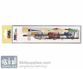 Acrylic brush set