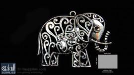 Antique finish Elephant 1
