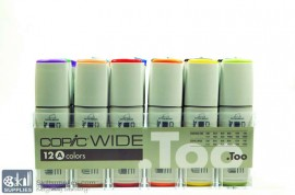 Copic WideSet A,12 images