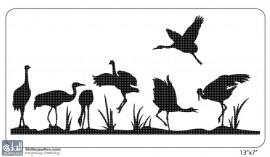 Nature Stencil Bird BI027 images