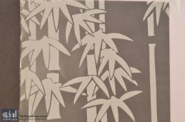 Vinyl Frost Pattern - Bamboo images