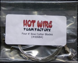 4 Pack Wires for 4in. Bow