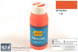 AcrylicPaint VermilionL