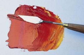 Artist painting knives No.8