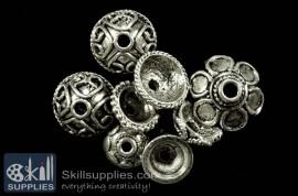 Bead caps Antique