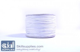 Cotton cord 0.5mm white ,10 mts