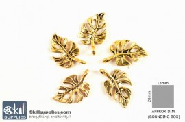 Gold Charm 6