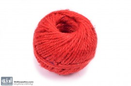 Jute Cord 50 m Red images