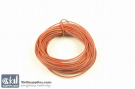 LeatherCord RedBrown