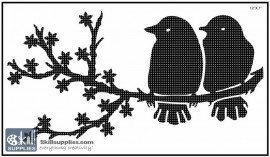 Nature Stencil Bird BI008 images