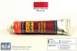 OilColour Light CadmiumRedhue