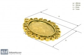 Pendant Tray32 Gold images