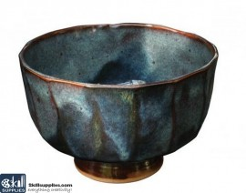 Pottery High Fire Glaze PC-12 Blue Midnight images